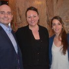 Max Tchanturia from Half Moon Resort & Scrub Island, with AM Resorts Sarah Spooner and Marion Barrere