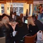 Agents enjoying the Visit Barbados presentations