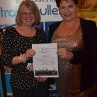 Lucky winner of the Hard Rock 3 night's complimentary stay was Jackie Shell (Classic Travel), courtesy of Fiona Boss from Hard Rock All Inclusive Resorts