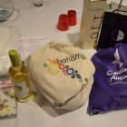 Prizes for the evening including wine, goody bags, complimentary hotel stays, vouchers plus champagne.