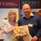 The first Bingo prize winner was Neil Torbell from Freeway Travel.