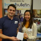 Tom Morgan from Riviera Travel with Leonard Leung from United Travel