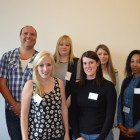 Charlene Harvey, Justin Asquith, Rebecca Mann, Emma Braznell, Sarah Ashfield, Laura Isham, Shevonne Brown from Click Travel