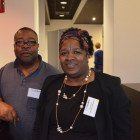 Errol Howe and Penny House from Travel Solutions