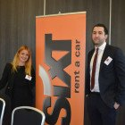 Lydia Schneider and Raouf Belmouloud from Sixt Rent a Car