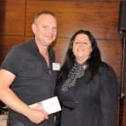 Sharon Earls, Cosmos Tours and Cruises presents Michael Dance, Thomas Cook Marble Arch with a xxx