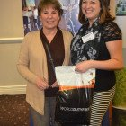 Duty free goody bag won by Lorinda Webb Travel Counsellors, from Tracey Quirk, Birmingham Airport