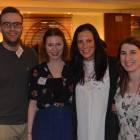 Flight Centre, Leeds reunion….Lawrence Kidd, Jessica Nerlich, Claire Jackson and Nicola James