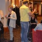 Attendees enjoying the evening