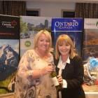 Winner of the Bingo – Michelle Harriman from Hanson Travel with Jeanette Ratcliffe ( Travel Bulletin )