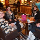 Lynne Hammond, Natalie Fee and Marion Owen – all from Marion Owen Travel, with Fusion Travel's Paul Jackson.