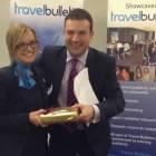 Kellie West, Thomas Cook Birmingham; Simon Eddolls, Travel Bulletin