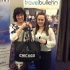 Sue Todd, Designer Travel; Laura Goldie, Discover Illinois