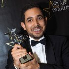 Tariq Khan from Hoseasons holds the award for Star Holiday Parks Operator.