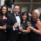 From the left: Gemma Wilks, Bourne Leisure; Dean Dexter and Andrea Elwell, Flexible Autos; Louise Tansey, Bourne Leisure.