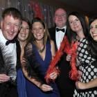 Midlands Travel Trade Ball at the Belfrey, Richard Penny (Travel Club Elite), Emily Trewhella (Mark Warner), Lizzie Edwards (Mark Warner), Colin Matthews (TCE), Sue Lowe (TCE) and Teresa Garcia (Mark