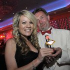 Midlands Travel Trade Ball at the Belfrey, Lucy Jones (Dosomethingdifferent.com) and Chris Bailey (Bailey