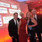 Midlands Travel Trade Ball at the Belfrey, Wayne Darrock (JTA) Wendy Albutt (Elite Travel Group), Ruth Brunger (Tranquility Travel) and Lee Marshall (ITC)